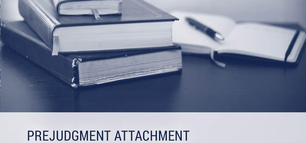 Prejudgment attachment