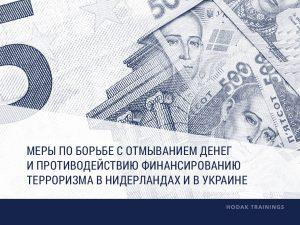 Меры по борьбе с отмыванием денег и противодействию финансированию терроризма в Нидерландах и в Украине